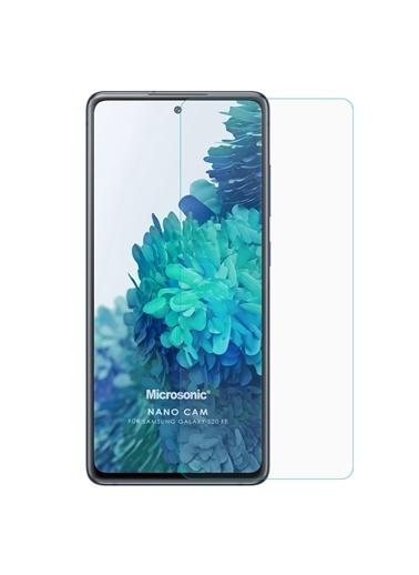 Microsonic Samsung Galaxy S20 FE Nano Glass Cam Ekran Koruyucu Renksiz